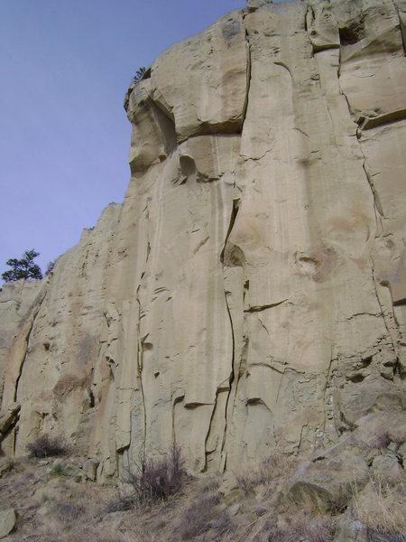 Rock Climbing Photo: Bootleg cracks Billings, MT