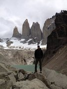 Rock Climbing Photo: Bienvenido a Patagonia!