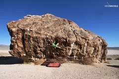 Rock Climbing Photo: Ben Riley climbing 'Ju' Ibex, UT Photo Cred: Heidi...