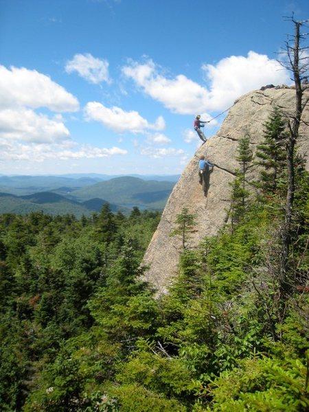 Rock Climbing Photo: Nice setting for a climb.