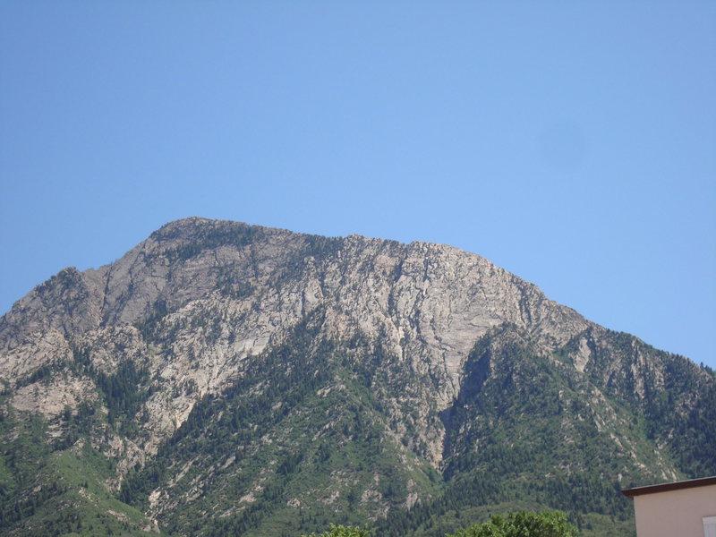 West Slabs of Mt. Olympus