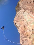 Rock Climbing Photo: A bit steep;