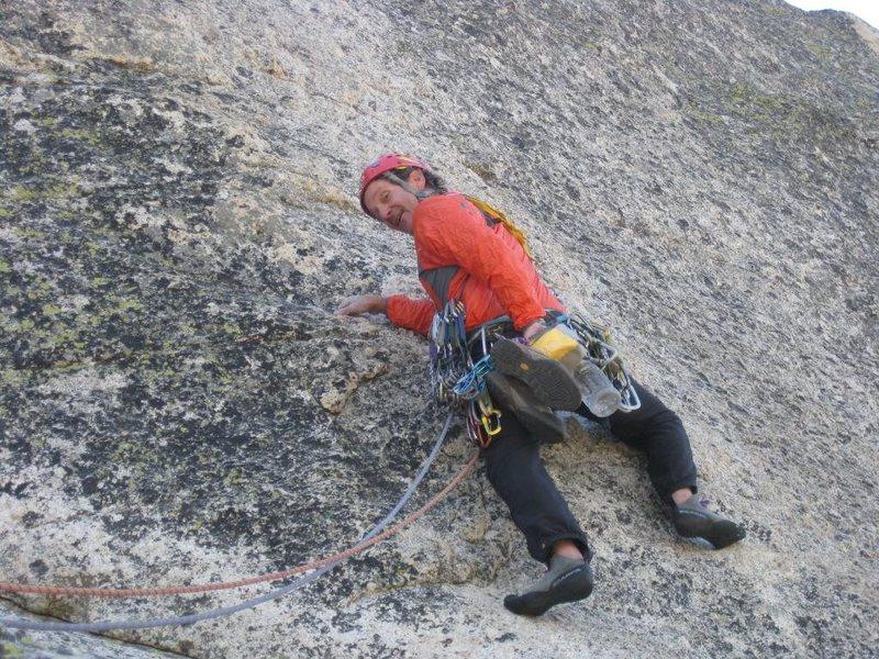Rock Climbing Photo: 3rd pitch Crying Time