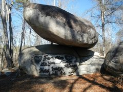 Rock Climbing Photo: balance boulder
