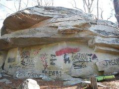 Rock Climbing Photo: shaking rock block