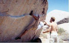 Rock Climbing Photo: IRONMAN TRAVERSE/ V4