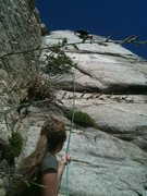 Rock Climbing Photo: this is the climb