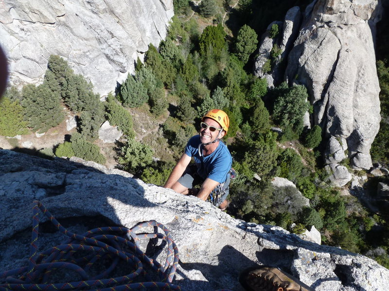 Rock Climbing Photo: Morning Glory
