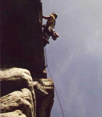 Rock Climbing Photo: High Exposure