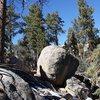 Bonsai Boulder, Holcomb Valley Pinnacles