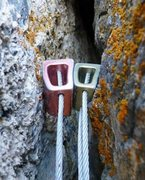 Rock Climbing Photo: This is the 2nd piece of a real anchor...
