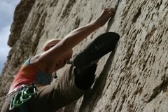 Rock Climbing Photo: Tribal War, Summer 2010.  Photo credit: Kyle Decke...