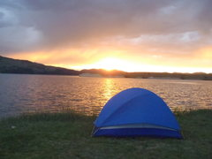 Rock Climbing Photo: Canyon Ferry Lake after a storm, from the Hellgate...