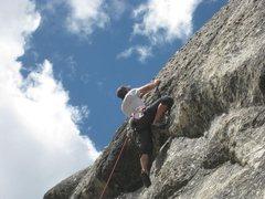 Rock Climbing Photo: Darth Vader-Bad Beta