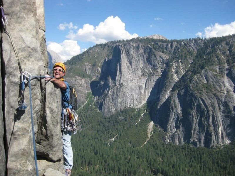 Rock Climbing Photo: E. Butt-Mental Crux P 7