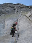 Rock Climbing Photo: Opening moves Fairview