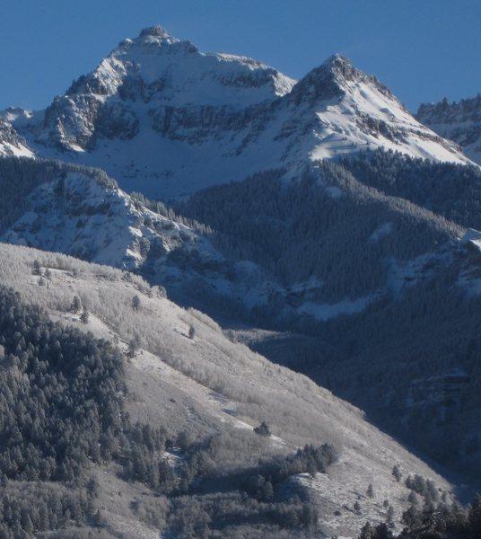 Rock Climbing Photo: Winter ascent, anyone?  Taken December, 2012.