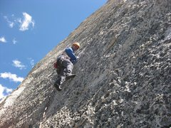 Rock Climbing Photo: Crying Time P. 4