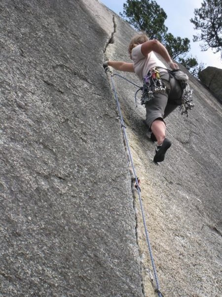 Clean Crack, Squamish 2010
