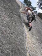 Rock Climbing Photo: Clean Crack, Squamish 2010