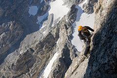Rock Climbing Photo: Guiding Petzoldt Ridge 2008