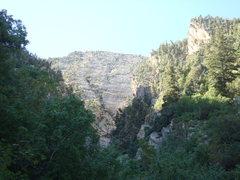 Rock Climbing Photo: approach gully