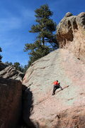 Rock Climbing Photo: Trying not to get the spins while climbing Drunken...