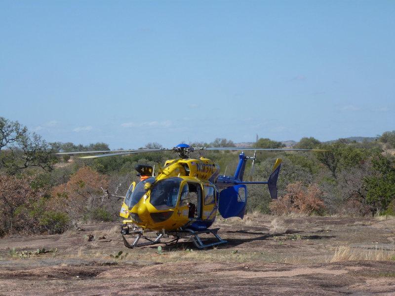 Rock Climbing Photo: copter