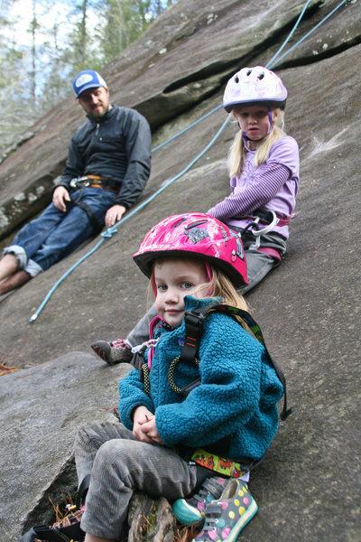 Rock Climbing Photo: me and my girls