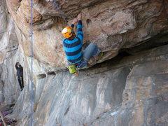 Rock Climbing Photo: Toxic Shock