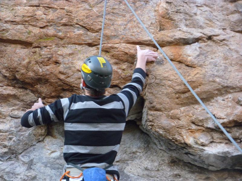 Rock Climbing Photo: Carnivore