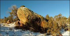 Rock Climbing Photo: Nightmare Revival beta.