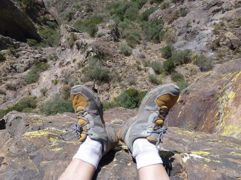 Rock Climbing Photo: feets