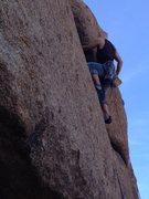 Rock Climbing Photo: P V