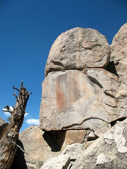 Reticent Rock, Holcomb Valley Pinnacles