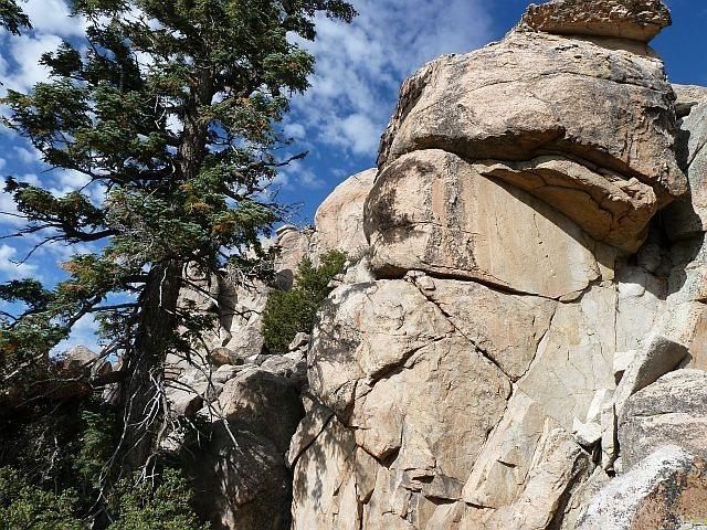 Rock Climbing Photo: Flibbertigibbet Rock, Holcomb Valley Pinnacles