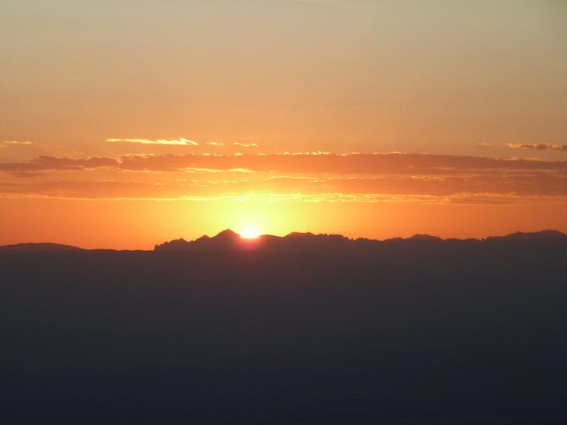 Rock Climbing Photo: Yep, sunrise