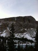 Rock Climbing Photo: Deep Freeze on 2/3/13 from afar.