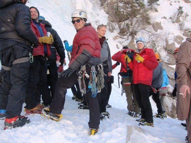 Rock Climbing Photo: GWI bbq 2-3-13