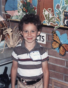 Rock Climbing Photo: First day of school age 6.