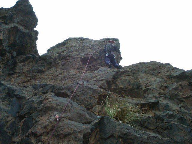 Rock Climbing Photo: FA Peel & Core