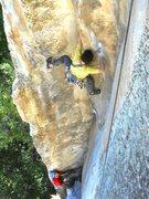 Rock Climbing Photo: The lower corner on Anticipation.
