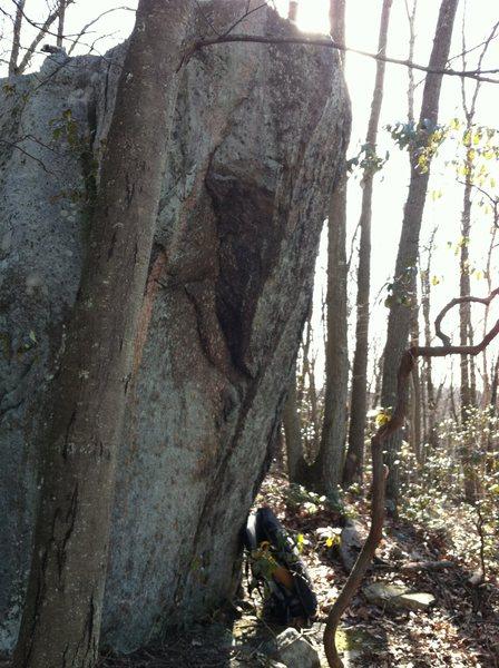 Rock Climbing Photo: Al Ordway Block