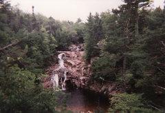 Rock Climbing Photo: Franconia Notch, New Hampshire