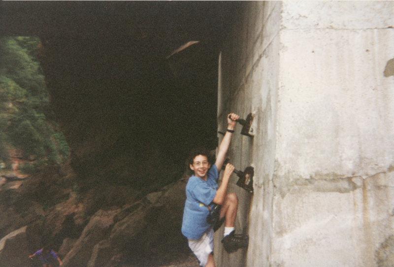 Rock Climbing Photo: Training