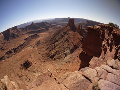 Rock Climbing Photo: Near Canyonlands.