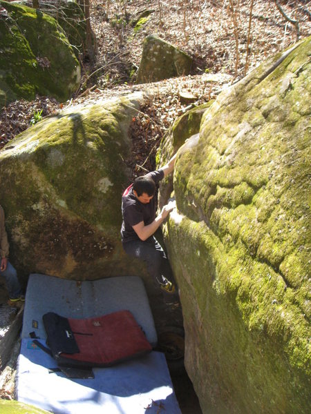 "Rock Climbing Photo: The ""Dumps"" (Grant, AL)"