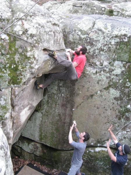 Rock Climbing Photo: Hercules, Horse Pens 40