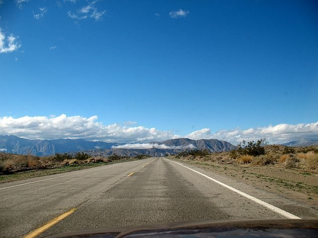 Rock Climbing Photo: S22 to Borrego Springs, San Diego County