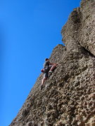 Rock Climbing Photo: Pretty fun route.